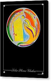 Solar Plexus Chakra Acrylic Print