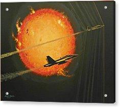 Solar Sonic Acrylic Print by Mark Pestana