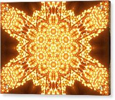 Solar Telepathy Acrylic Print by Filip Klein