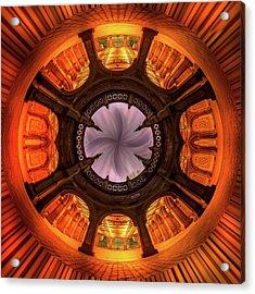 Solar Worship Acrylic Print