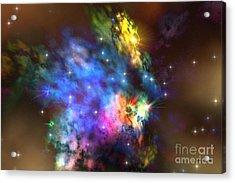 Solaris Nebula Acrylic Print by Corey Ford