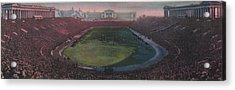 Soldier Field Acrylic Print by American School