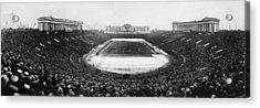 Soldier Field, Chicago, Illinois, Circa Acrylic Print by Everett