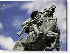 Acrylic Print featuring the photograph Soldier In The Boer War by Stephen Mitchell