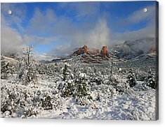 Soldier Pass Morning Acrylic Print