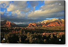 Soldier Pass Sunset Acrylic Print
