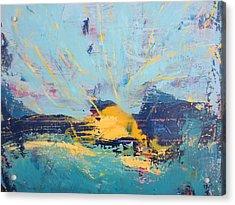 Soleil De Joie, Extrait Acrylic Print