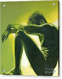 Soliloquy Acrylic Print by Padmakar Kappagantula