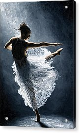 Solitaire Acrylic Print by Richard Young