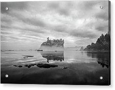 Solitary Beach Acrylic Print
