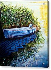 Solitary Boat Acrylic Print