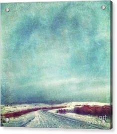 Solitary Journey Acrylic Print by Priska Wettstein