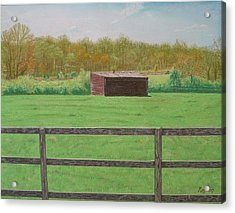 Solitary Shed Acrylic Print