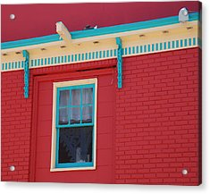 Acrylic Print featuring the photograph Solitary Window by Richard Bryce and Family