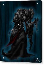 Solitiary Reaper Acrylic Print by Rahul Chakraborty