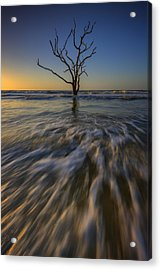 Solitude At Botany Bay Acrylic Print