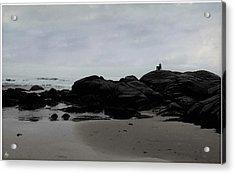 Solitude At Goose Rocks Acrylic Print