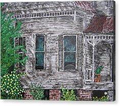 Solitude Awaits Acrylic Print by Ricklene Wren