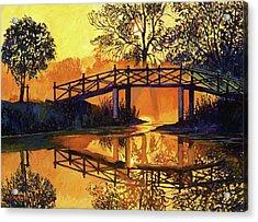 Solitude Acrylic Print by David Lloyd Glover