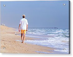Solitude Acrylic Print by Keith Armstrong