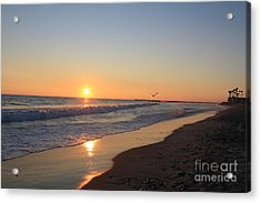 Acrylic Print featuring the photograph Solitude by Kim Pascu