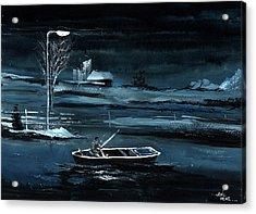 Solitude New Acrylic Print by Anil Nene