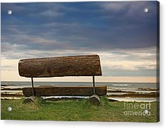 Acrylic Print featuring the photograph Solitude.. by Nina Stavlund