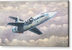 Solo Starfighter Acrylic Print