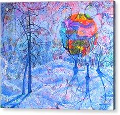 Solstice Acrylic Print by Rollin Kocsis