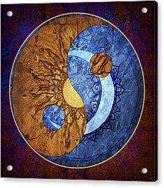 Soluna Acrylic Print by Kenneth Armand Johnson