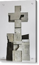 Soma Structure 1 Acrylic Print by David Umemoto