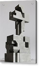 Soma Structure 2 Acrylic Print by David Umemoto