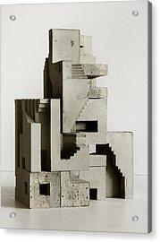 Soma Structure 3 Acrylic Print by David Umemoto
