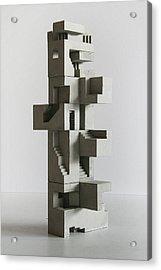 Soma Structure 5 Acrylic Print by David Umemoto