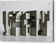Soma Structure 7 Acrylic Print by David Umemoto