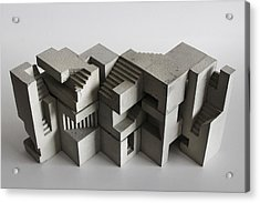 Soma Structure 8 Acrylic Print by David Umemoto