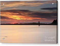 Some Glow At Sunset Acrylic Print
