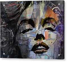 Some Like It Hot Retro Acrylic Print by Paul Lovering
