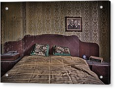 Somebody Is In Our Bedroom Taking Pictures Acrylic Print by Dirk Ercken