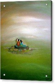 Someday Acrylic Print by Philip Okoro