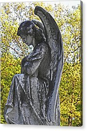 Someone To Watch Over Me Acrylic Print by Elizabeth Hoskinson