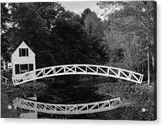 Somesville Bridge In Acadia National Park Acrylic Print