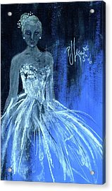 Something Blue Acrylic Print by P J Lewis