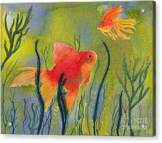 Something Fishy Going On Acrylic Print