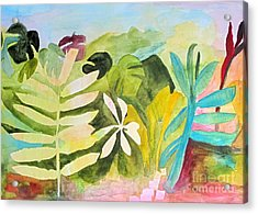 Acrylic Print featuring the painting Sometimes I Miss The Tropics by Sandy McIntire