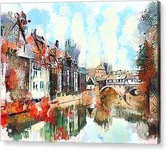 Somewhere In Europe 02 Acrylic Print