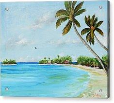 Somewhere In Paradise Acrylic Print