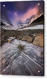 Somewhere In The Canadian Rockies Acrylic Print