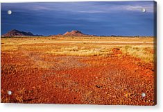 Somewhere In The Outback, Central Australia Acrylic Print