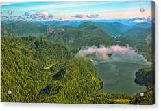 Acrylic Print featuring the photograph Over Alaska - June  by Madeline Ellis